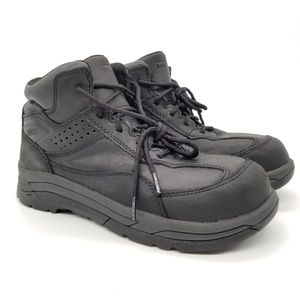 Worx Red Wing High Top Steel Toe Shoes 5116 Sz 9